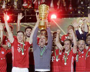 拜仁点球4-3胜多特夺得德国杯