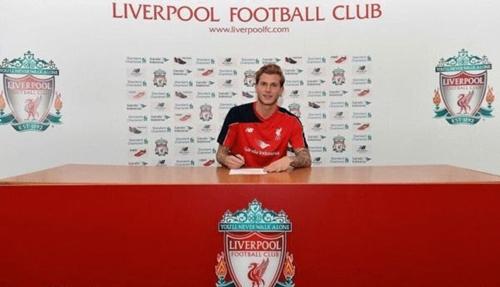 利物浦宣布470万英镑签卡里乌斯