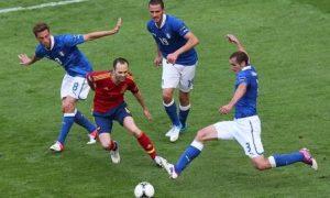 足球分析:【欧洲杯16强】意大利VS西班牙
