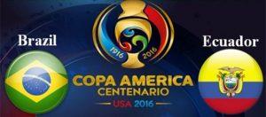 足球分析:【美洲杯】巴西VS厄瓜多尔
