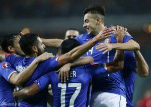 欧洲杯足球预测:意大利VS爱尔兰
