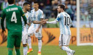 阿根廷3连胜小组头名出线