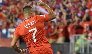 智利4-2巴拿马晋级美洲杯8强