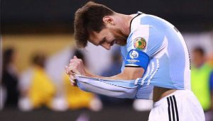 梅西黯然退出阿根廷国家队