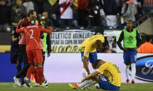 巴西爆冷负秘鲁无缘美洲杯8强