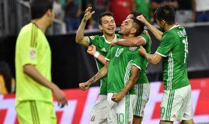 墨西哥1比1委内瑞拉夺小组头名