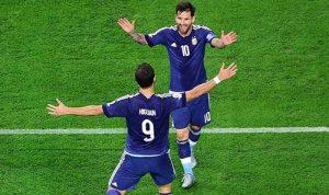梅西2传1射引领阿根廷进美洲杯决赛