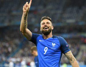 法国5-2大胜冰岛进欧洲杯半决赛