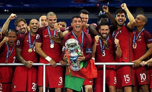 葡萄牙加时赛1比0法国首夺欧洲杯