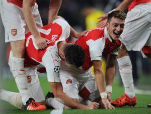 足球分析:【欧冠】巴黎圣日耳曼VS阿森纳