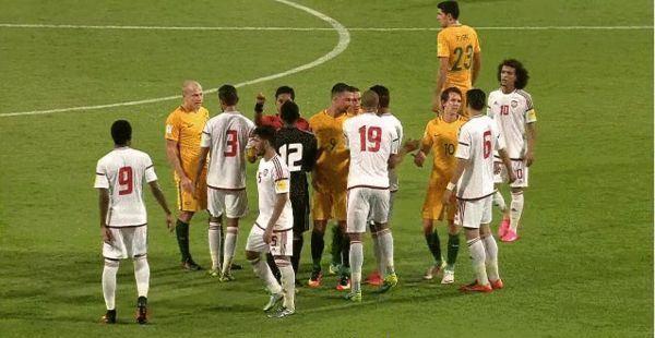 澳大利亚1球客胜阿联酋