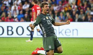 穆勒爆发率领德国3比0挪威