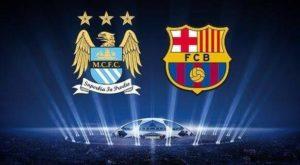 足球分析:【欧冠】巴塞罗那VS曼城