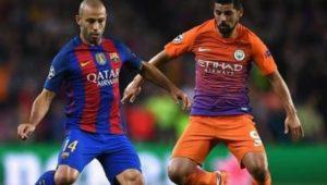 足球分析:【欧冠】曼城VS巴塞罗那
