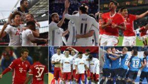 欧洲联赛本赛季10支保持不败的球队
