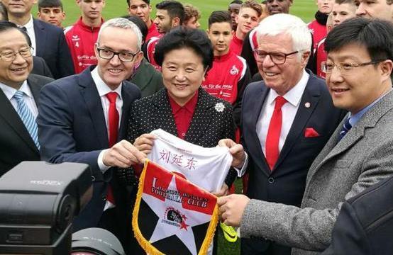 足球界将看到更多中国的合作伙伴
