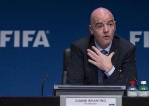 FIFA将宣布世界杯扩军的消息